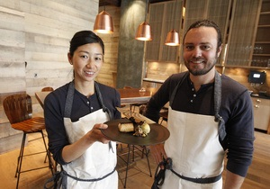 Рецепт от шефа. Дэвид Майерс и Кунико Яги. Правила еды и рецепт утиной грудки в саке от знаменитого дуэта поваров