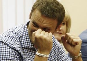 Навальный приговорен к пяти годам тюрьмы