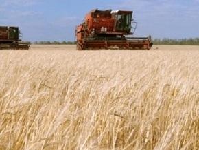 Украина уже собрала первый миллион тонн зерна
