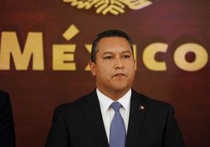 При крушении вертолета с главой МВД Мексики никто не выжил
