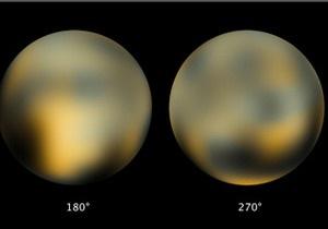 Планета Плутон меняет цвет
