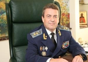 Медведько подписал рапорт об освобождении Шинальского