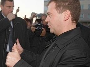 Медведев: РФ довольна позицией США по предоставлению ПДЧ Украине и Грузии