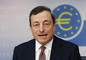Глава ЕЦБ пообещал удерживать ключевые ставки на низком уровне