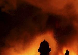 МЧС ликвидировало возгорание торфяника под Киевом