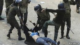 Египтянки возмущены насилием со стороны военных