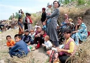 Узбекистан принял около 75 тысяч беженцев из Кыргызстана