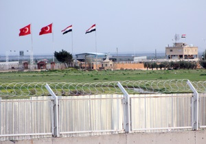 Турция закрыла границу с Сирией