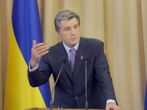 Ющенко поздравил художницу Параску Хому с днем рождения