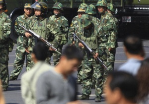 В Китае толпа напала на полицейский участок. Есть погибшие