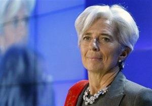 Лидеры G8 единогласно поддержали кандидатуру Лагард на пост главы МВФ