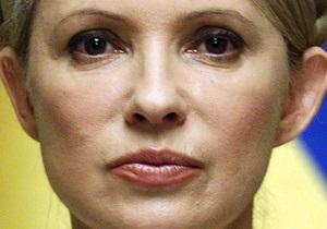 Тимошенко: Я четко заявляю, что не имею отношения к убийству Щербаня