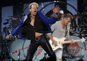 Рок-группа Van Halen отправляется в турне с первым вокалистом