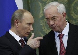 Путин: Россия не станет менять формулу цены на газ для Украины