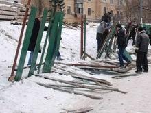 Киевляне вытеснили бетономешалки с территории заповедника ЮНЕСКО