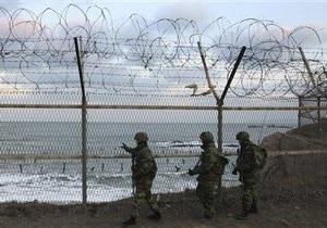 КНДР снова провела артиллерийские учения на границе с Южной Кореей