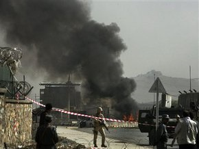 Террорист-смертник атаковал военный конвой НАТО в Кабуле: есть жертвы