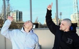 Клип  ГИГА и Баста - Здрасьте  собрал более 300 000 просмотров на youtube меньше чем за 5 дней