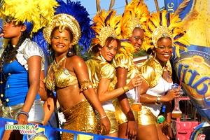 Открытие карнавала на Доминике