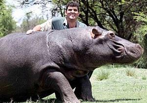 В ЮАР  домашний бегемот убил своего хозяина