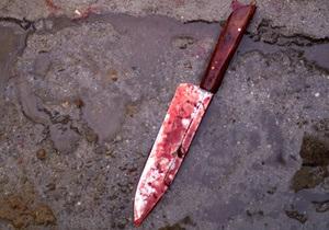 Новости Украины - убийство - В Черниговской области отец зарезал сына