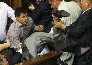 Регионал считает, что драки в Верховной Раде - признак демократии
