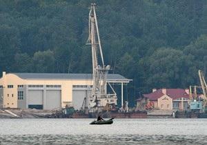 Kyiv Post: Близ Межигорья строят ангар для яхт