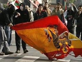 Испанские власти  ввели повышенный уровень опасности из-за возможных диверсий ЭТА