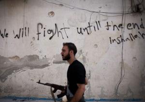 Сирийские повстанцы впервые захватили военную базу рядом с Дамаском