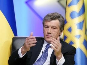 Ющенко подтвердил готовность украинской стороны восстановить транзит российского газа