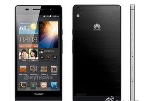 Huawei готовится представить самый тонкий в мире смартфон