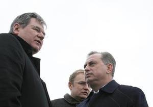 Во время визита Колесникова во Львов местные власти перешли на русский