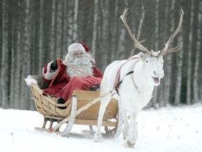 Центр по отслеживанию перемещений Санта-Клауса: Санта вылетел с Северного полюса в США