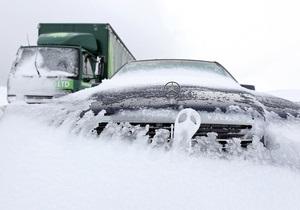 Фотогалерея: Снежный Альбион. В Британию вернулась зима