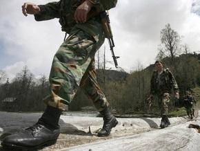 Грузинские полицейские задержали  вооруженного и пьяного  коллегу из Южной Осетии