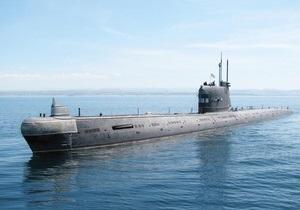 Подводная лодка Запорожье вышла в море