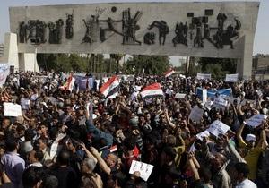 В Ираке проходит общенациональный День гнева