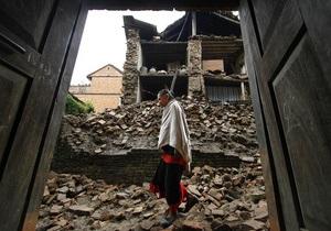 Число жертв землетрясения в Индии превысило 40 человек