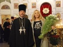 Тина Кароль удостоена церковного Ордена Святой Великомученицы Катерины
