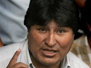 Президент Боливии объявил голодовку из-за медлительности оппозиции