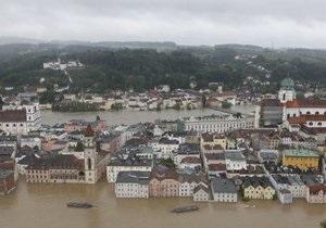 В Германии сохраняется критическая ситуация из-за наводнения. Началась эвакуация из Дрездена