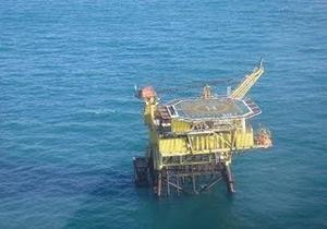 На нефтяной платформе в Мексиканском заливе произошел пожар