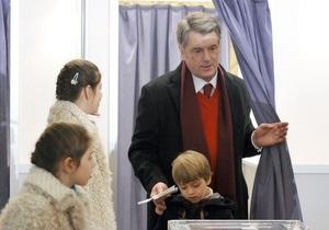Штаб Ющенко: Выборы прошли честно и демократично