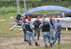 Под Киевом разогнали националистический фестиваль Русь
