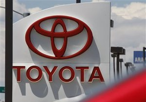 Toyota рассчитывает значительно увеличить продажи в 2012 году