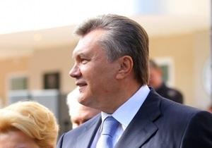 УП: В Херсоне Янукович оконфузился несколько раз