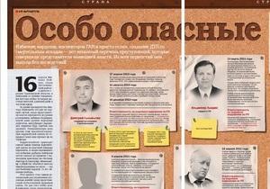 Особо опасные: Корреспондент составил список VIP-нарушителей закона в Украине