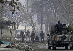 В Афганистане обрушилось здание авиабазы США, есть жертвы