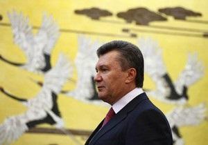 Янукович запретил губернаторам применять админресурс