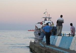 Капитан затонувшего в Крыму катера был пьян - МВД
